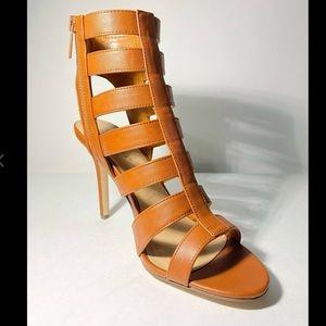 Vegan strappy open toe gladiators